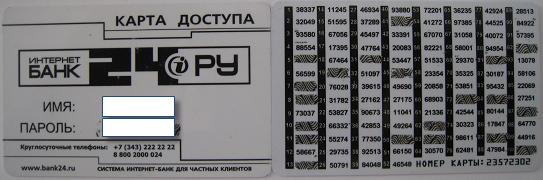 Интернет-банк для физических лиц Банка24.ру